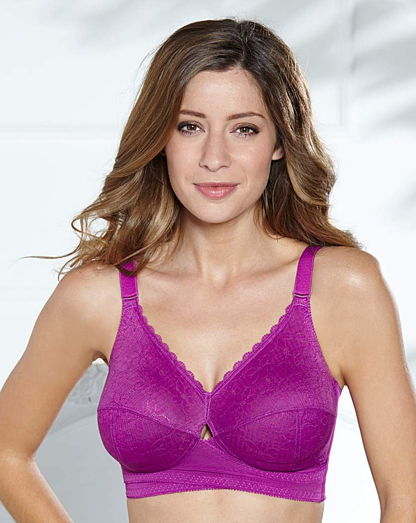 Image of Berlei Classic Non Wired Purple Bra