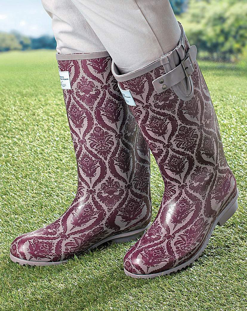 Briers Baroque Wellington Boots