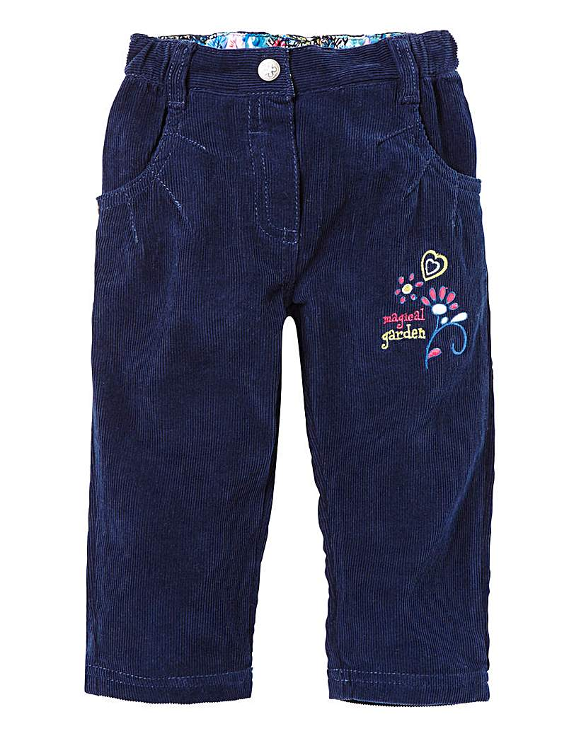 Girls Cord Trousers (3-18mths).