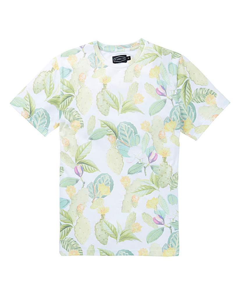 Label J Succulent Print Tee Regular.