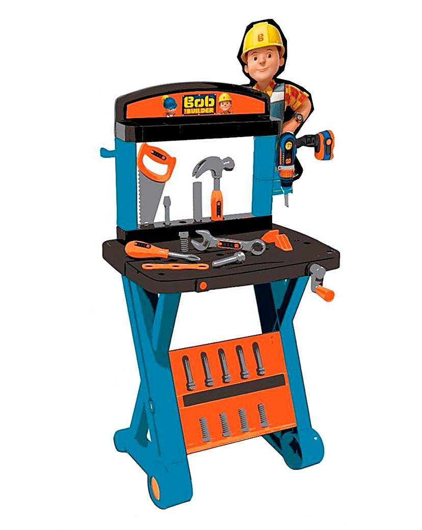 Image of Bob The Builder Workbench and Drill