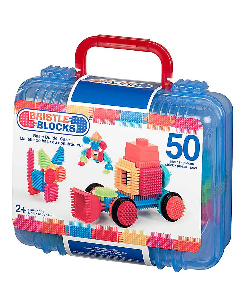Image of Bristle Blocks Basic Builder 50 Pieces