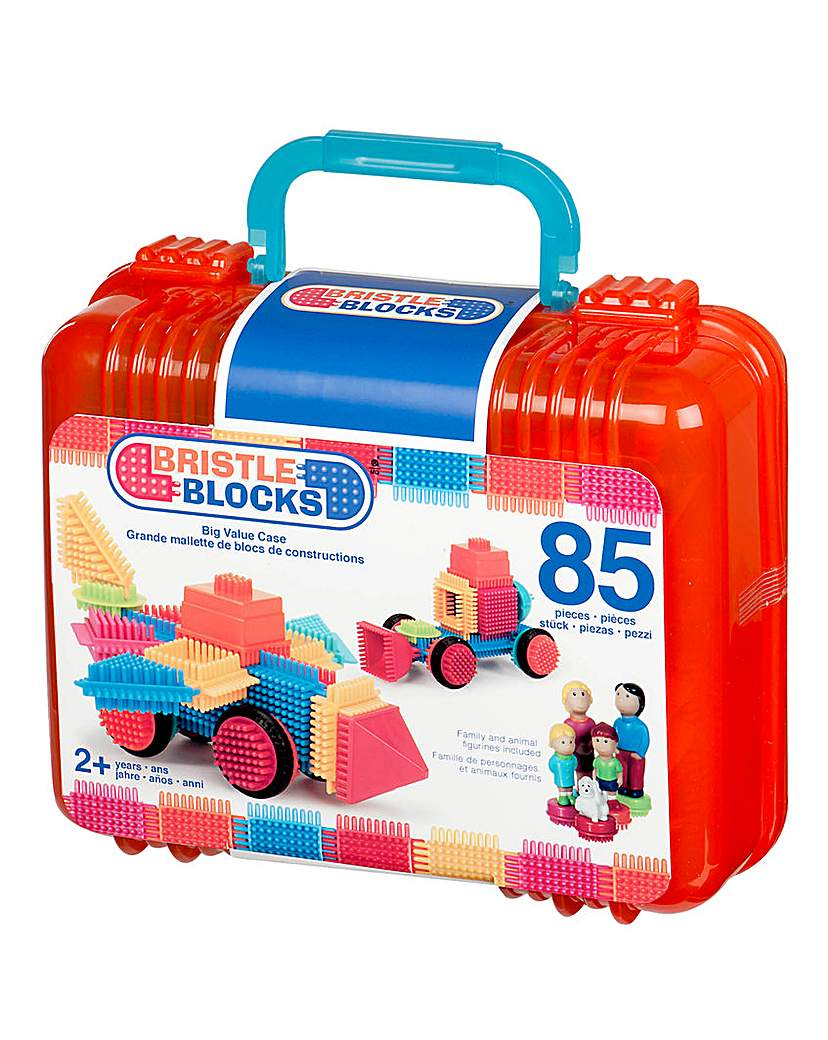 Image of Bristle Blocks 85 Pieces