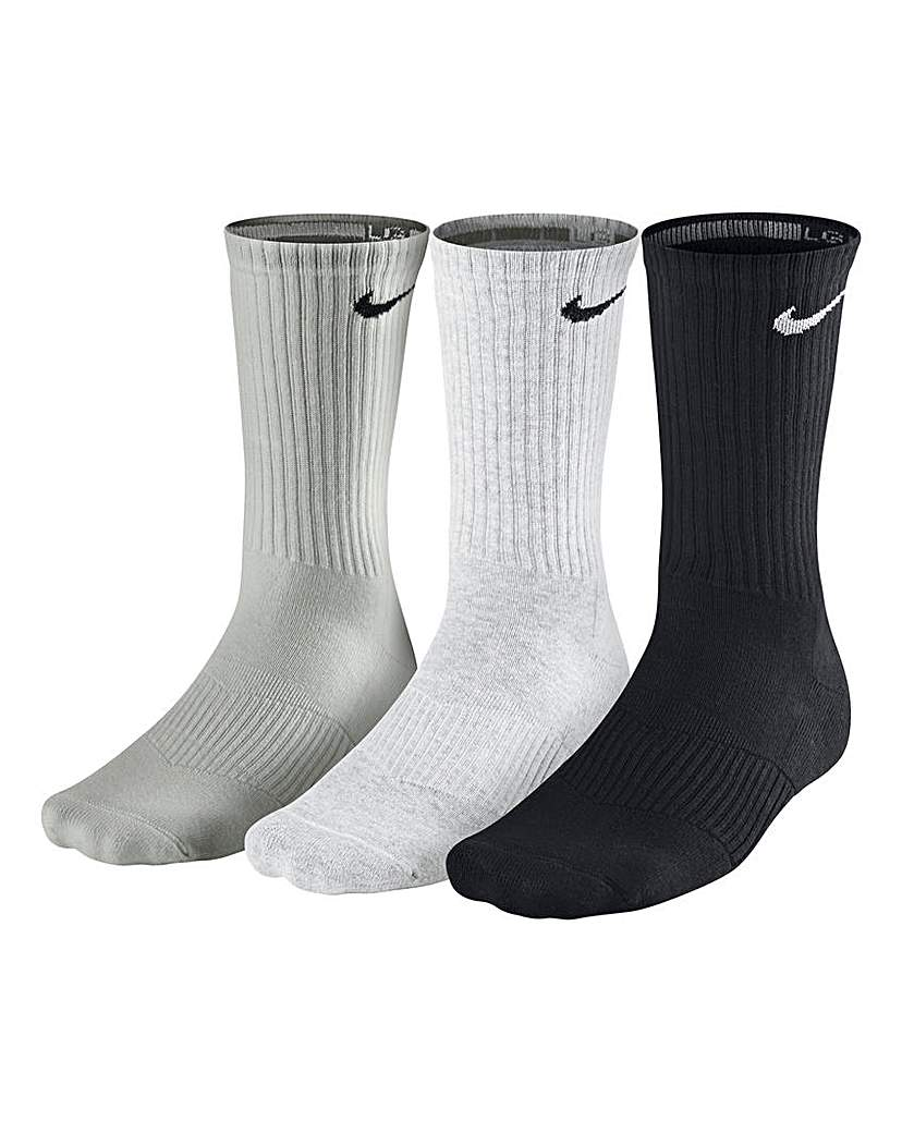 Nike Pack of 3 Cotton Cushion Socks