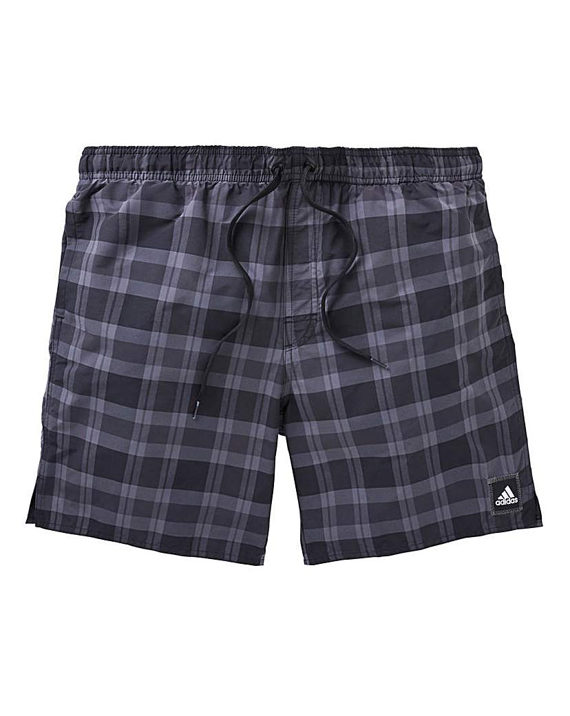 adidas Check Swimshorts