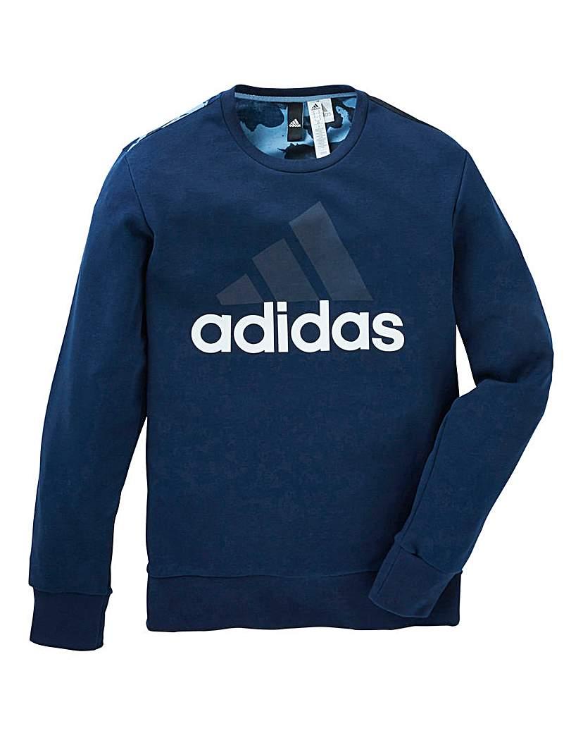 Stockists of Adidas Essential Linear Crew Neck Sweat