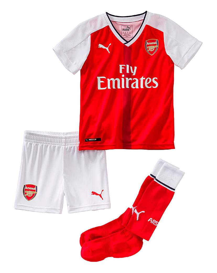 Image of Puma Boys Arsenal Football Club Mini Kit
