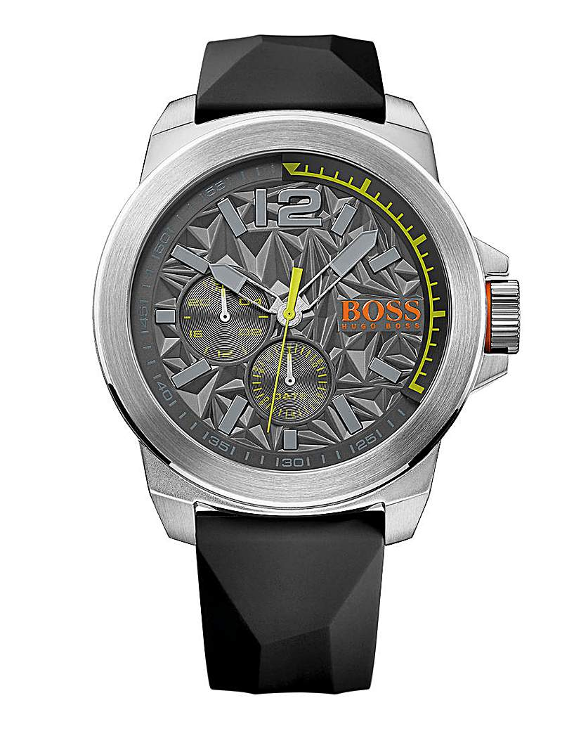 Boss Orange New York Silicon Strap Watch