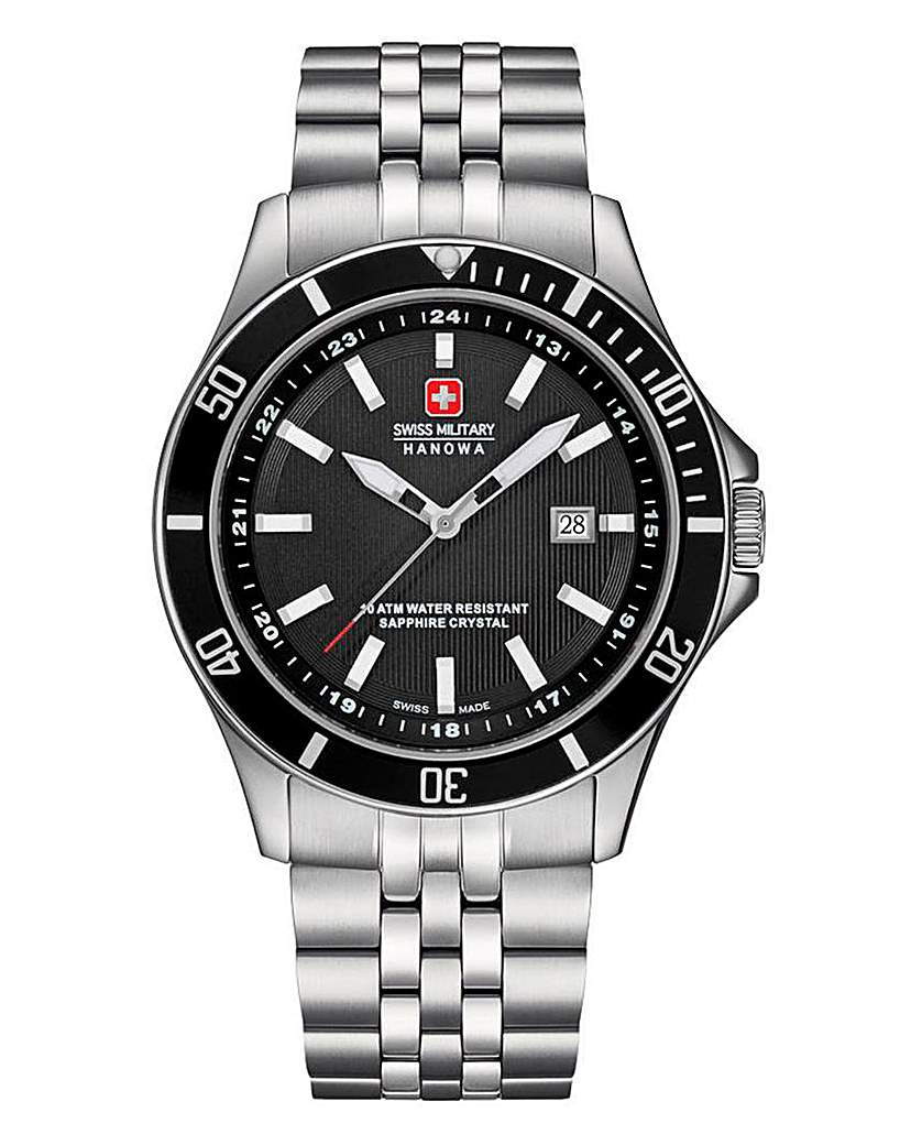Swiss Military Gents Bracelet Watch