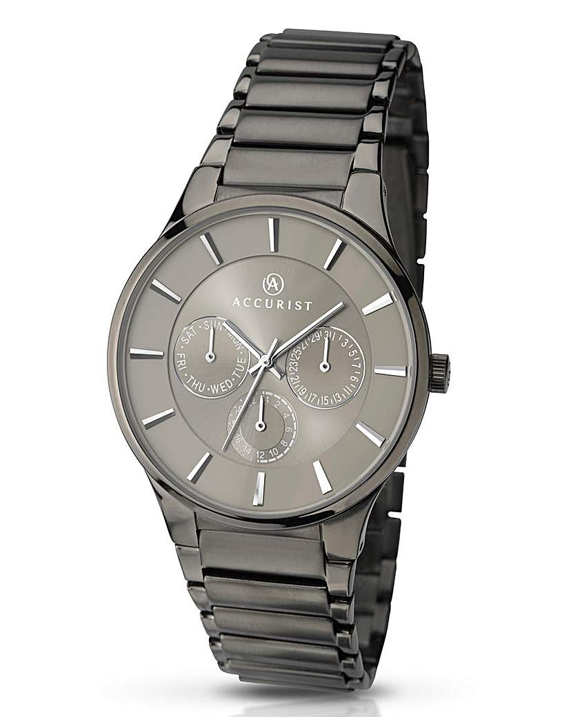 Image of Accurist Gents Grey Chronograph Watch