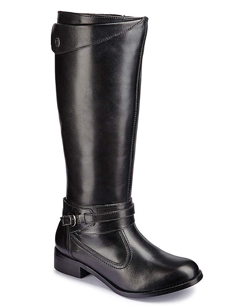 Legroom Boot Extra Curvy Plus Calf EEE