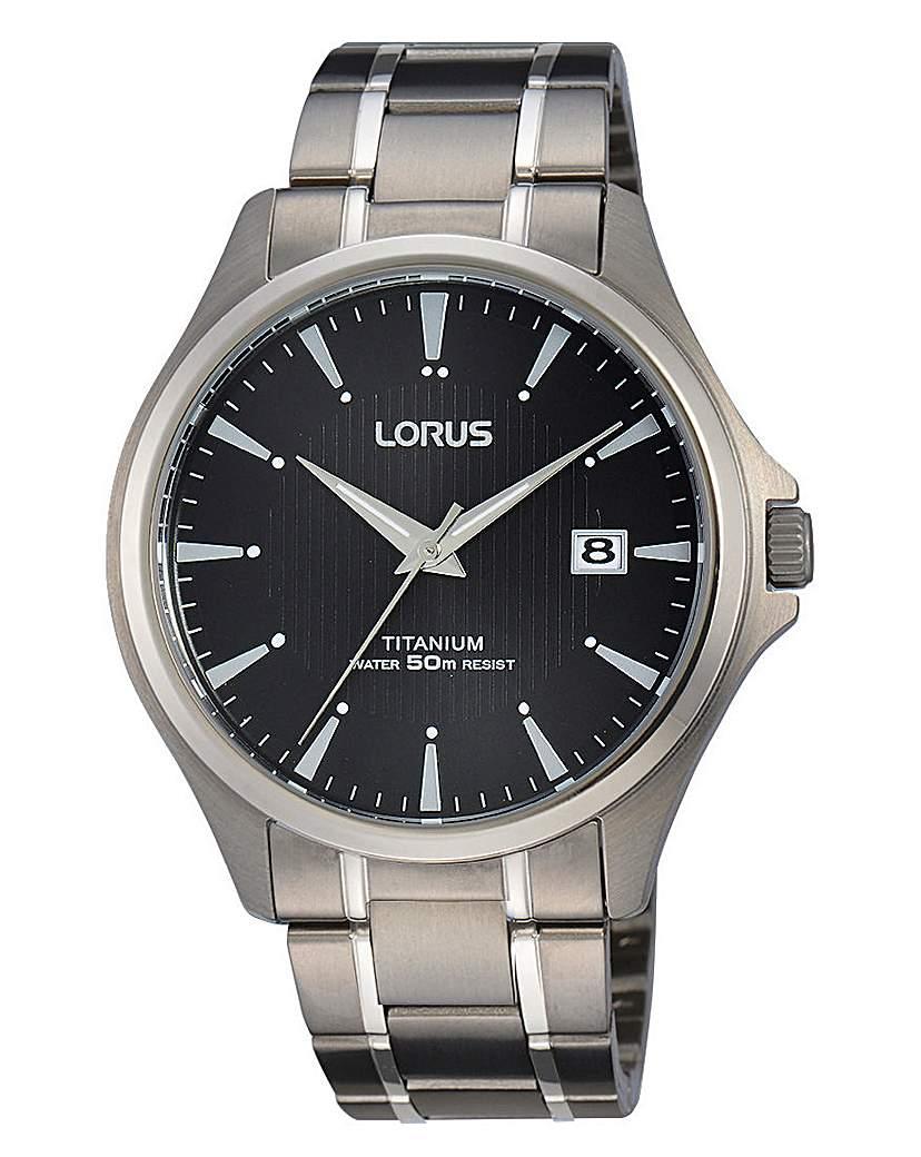Lorus Gents Titanium Watch