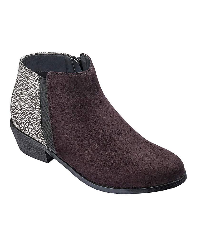 Sole Diva Low Ankle Boots E Fit