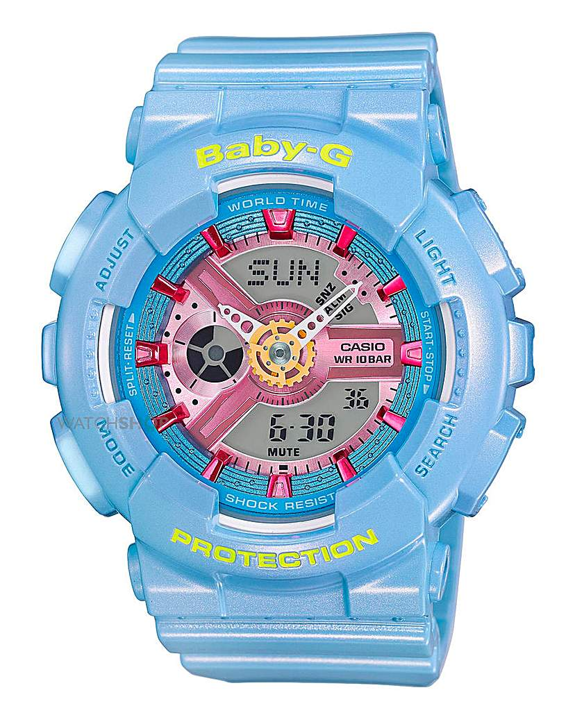 Image of Baby-G Ladies Blue Sports Watch