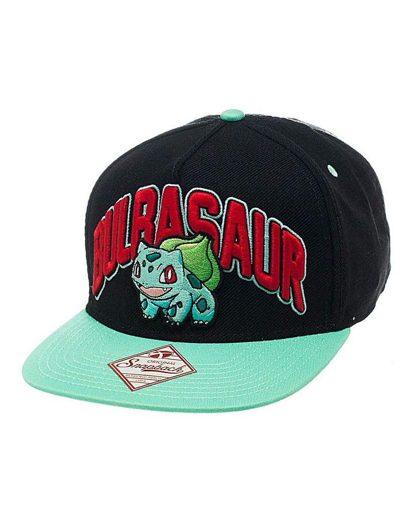 Image of Pokemon Bulbasaur Snapback Cap