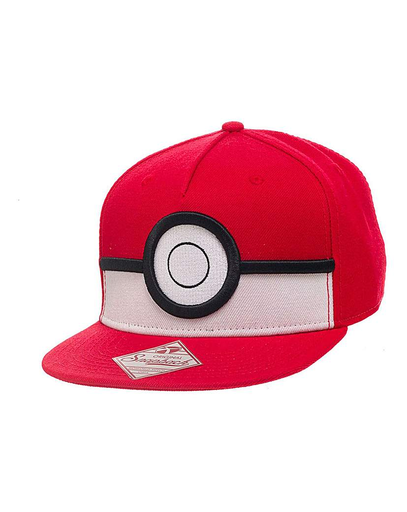 Image of Pokemon 3D PokeBall Snapback Cap