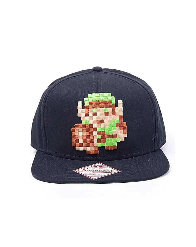 Image of Legend of Zelda Pixelated Snapback Cap