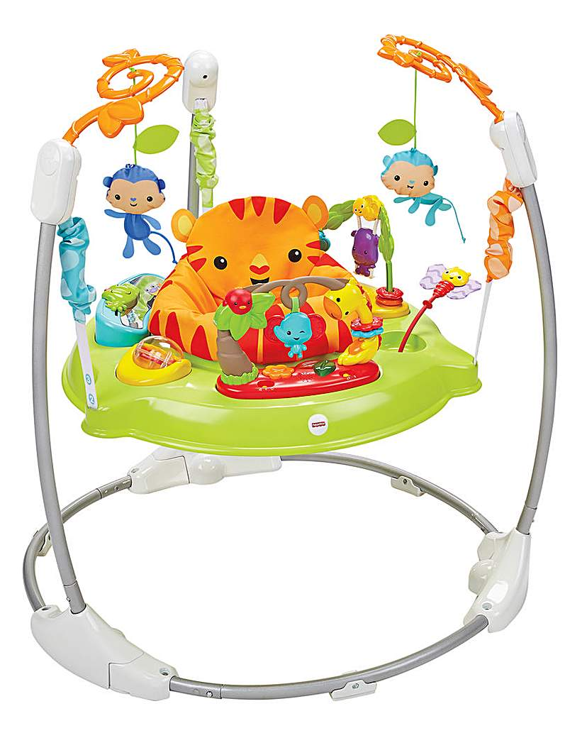 Image of Fisher Price Roarin Rainforest Jumperoo