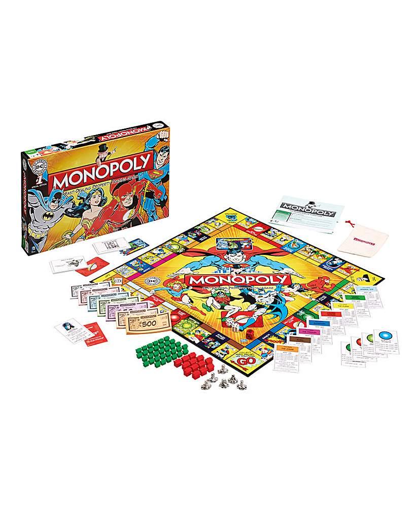 Image of DC Comics Retro Monopoly