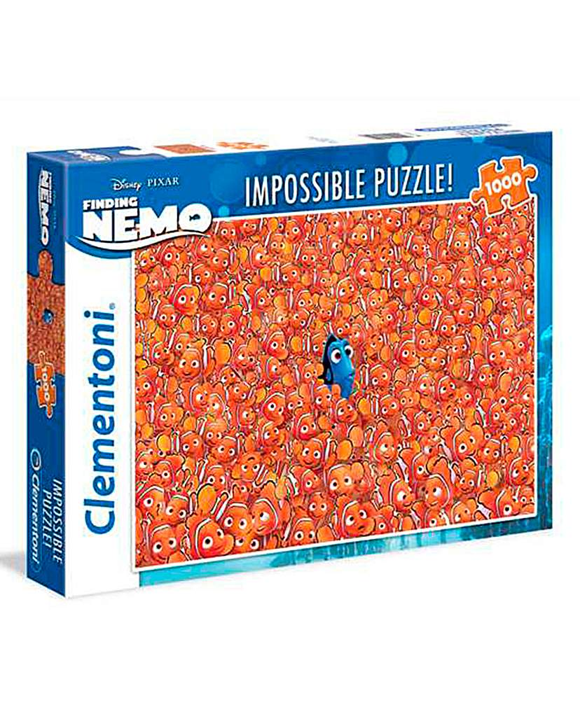 Image of Disney 1000pc Impossible Puzzle - Dory