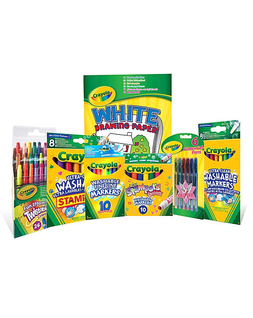 Image of Crayola Big Stationary and Paper Bundle