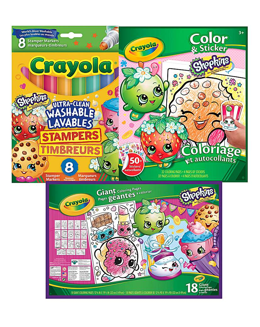 Image of Crayola Shopkins Bundle
