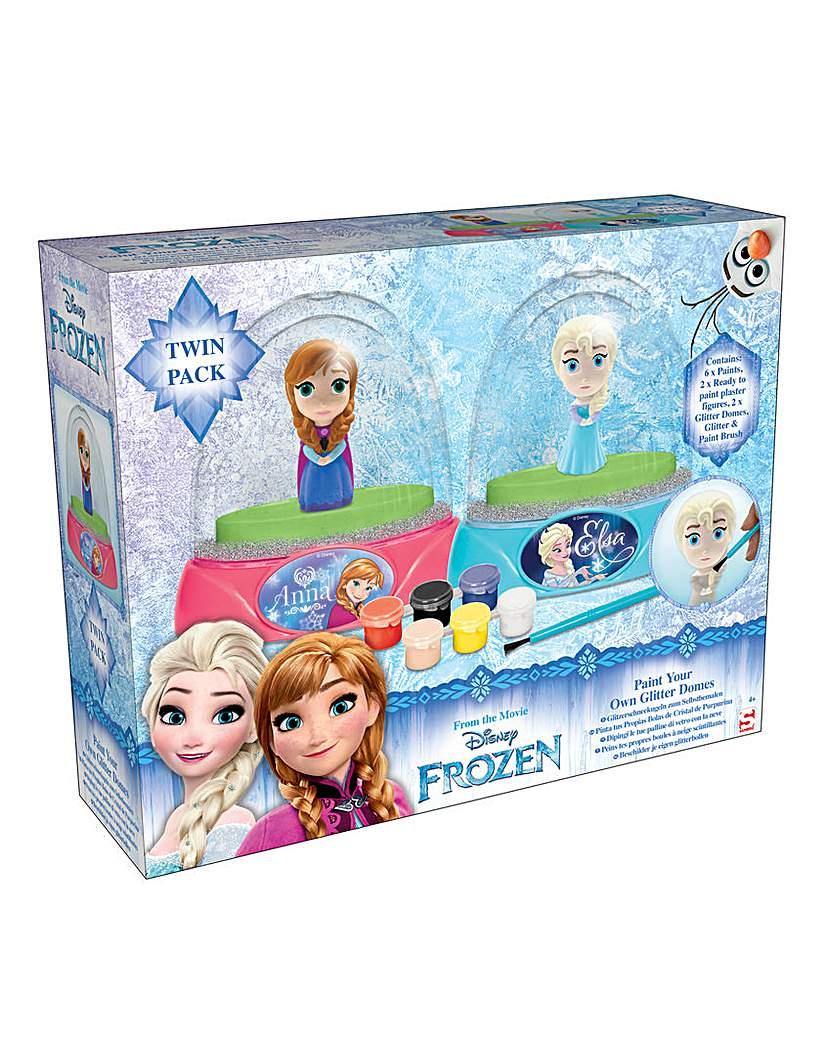 Image of Disney Frozen 2pk Glitter Dome