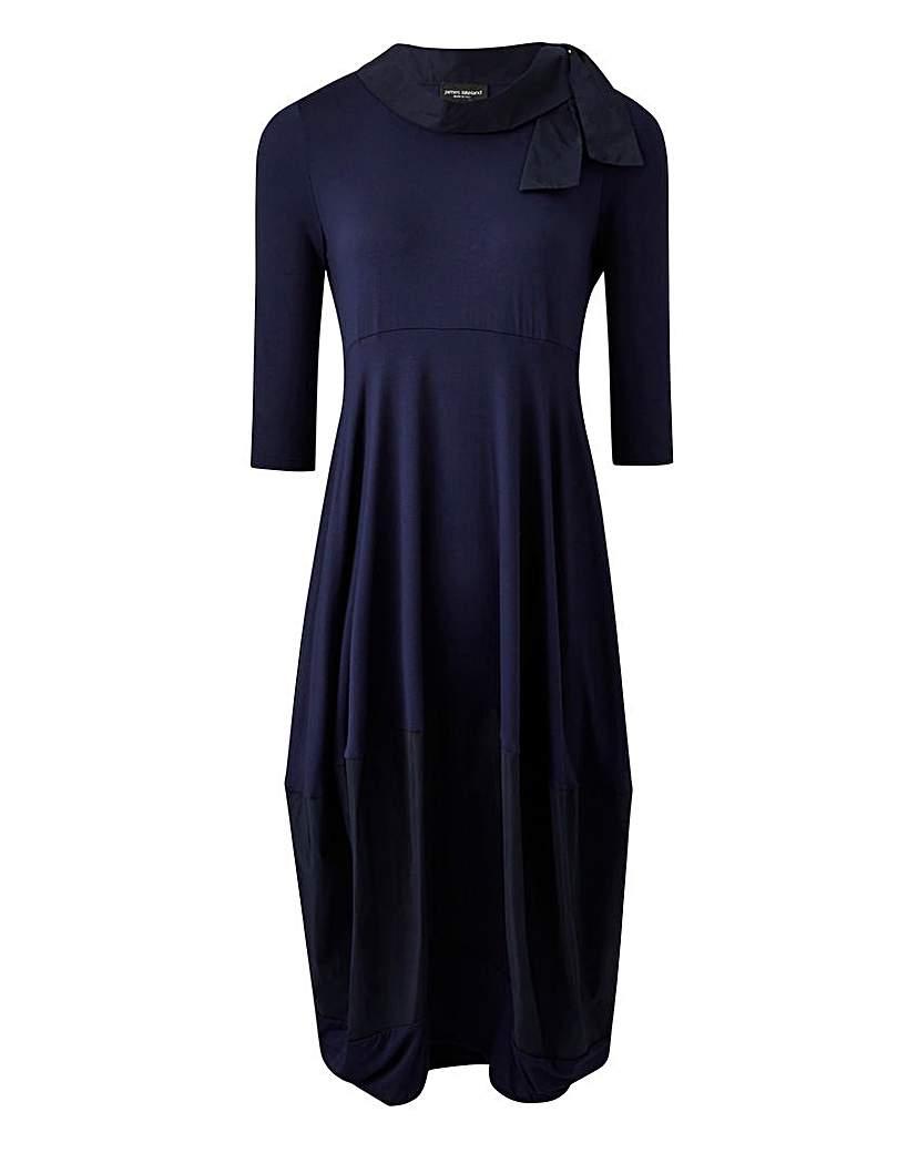 James Lakeland Drape Hem Dress
