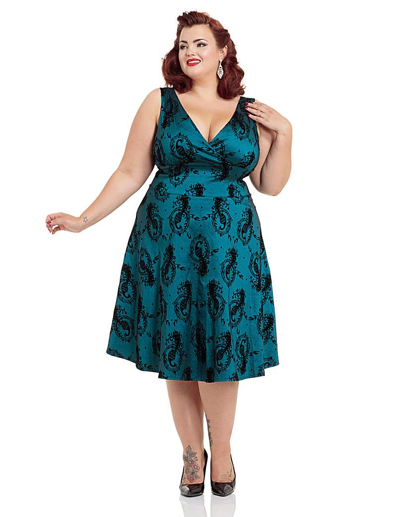 Voodoo Vixen Betty Boo Dress