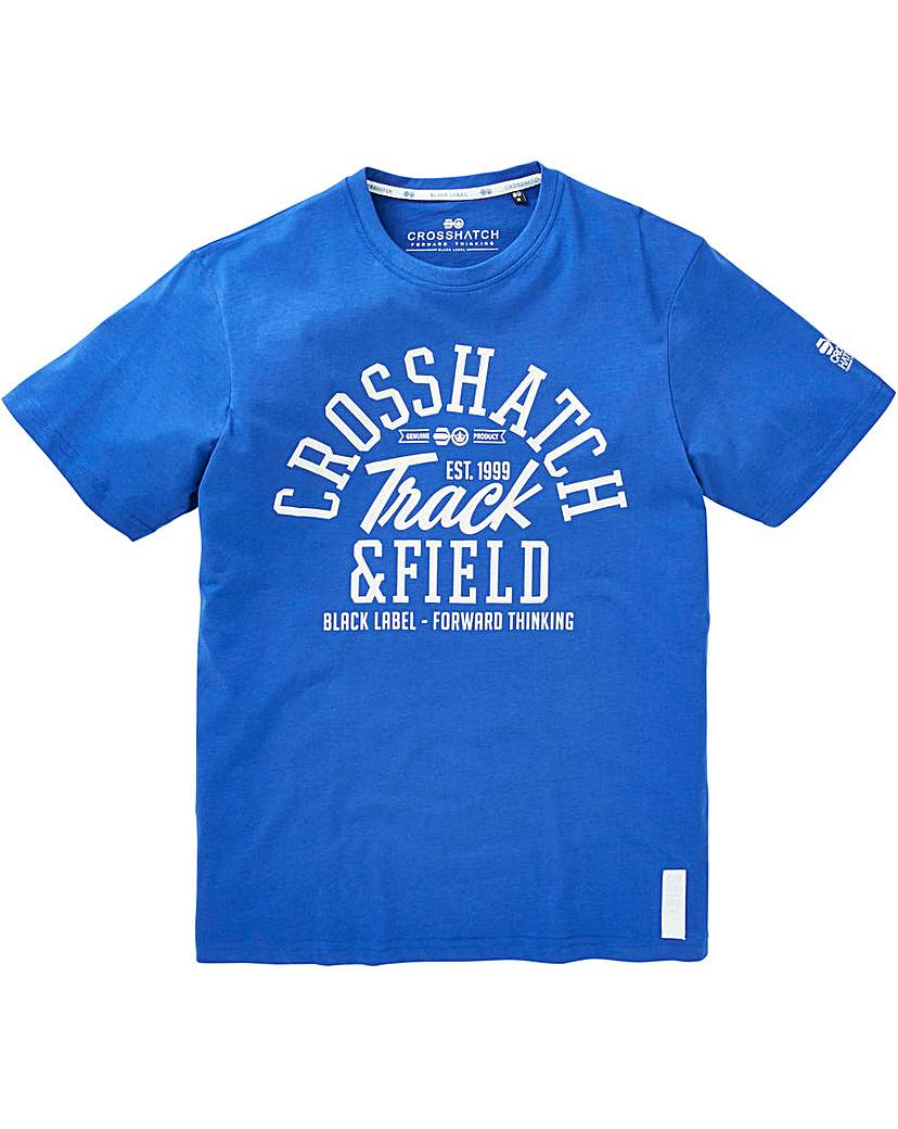 Image of Crosshatch Cottonham T-Shirt