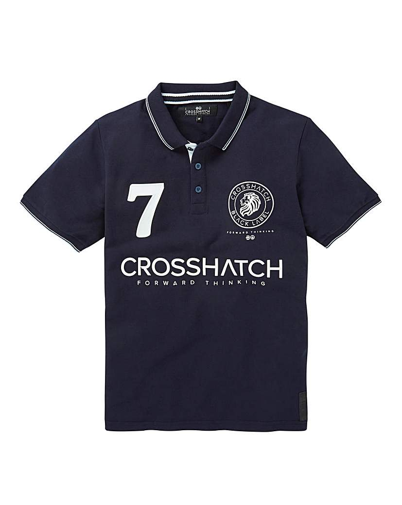 Crosshatch Lazaros Polo