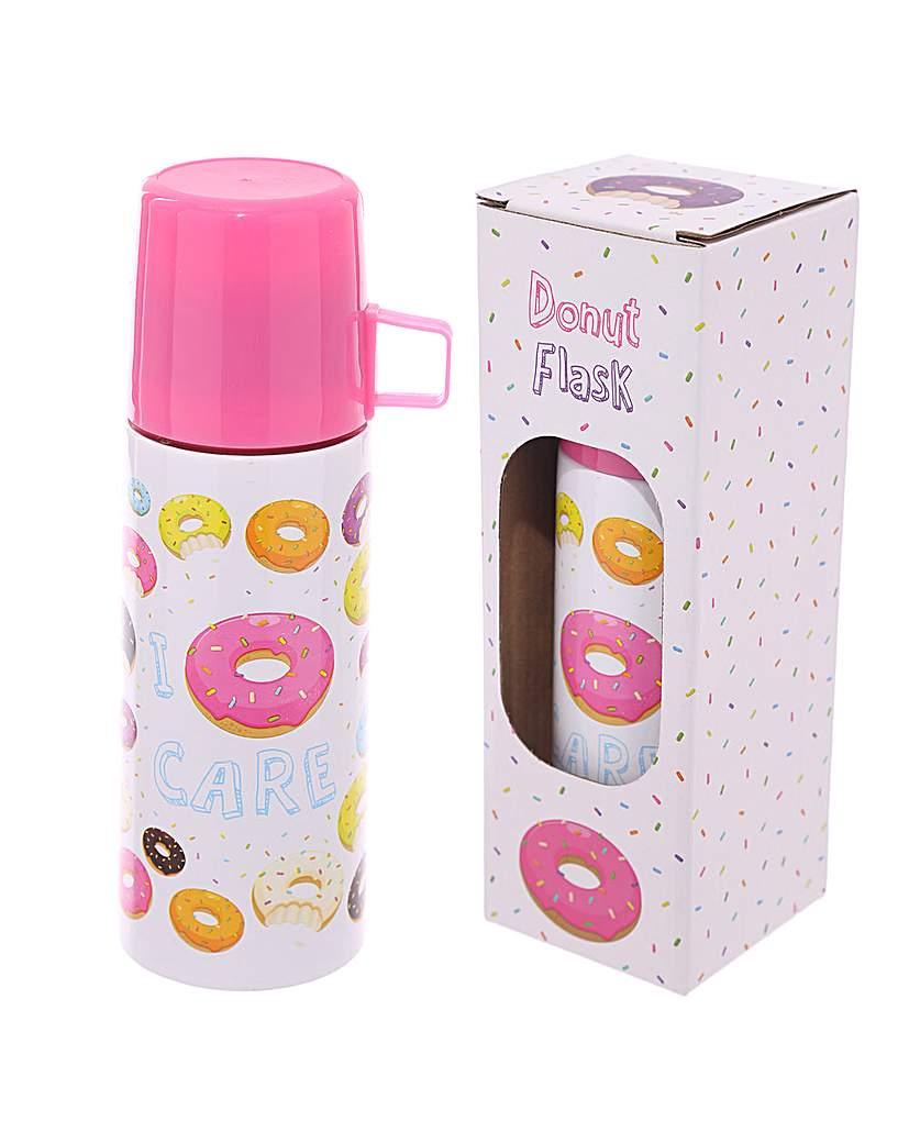 Image of Funky 350ml Flask - Donut Design