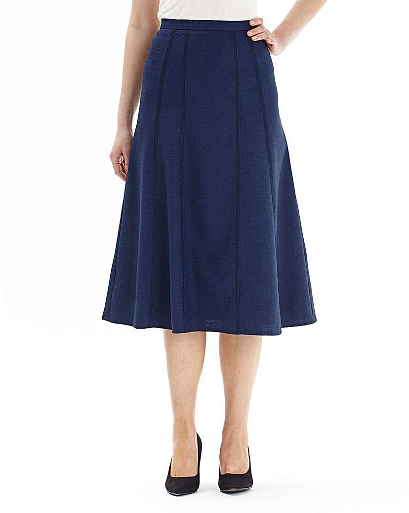 Stitch Detail Skirt Length27in