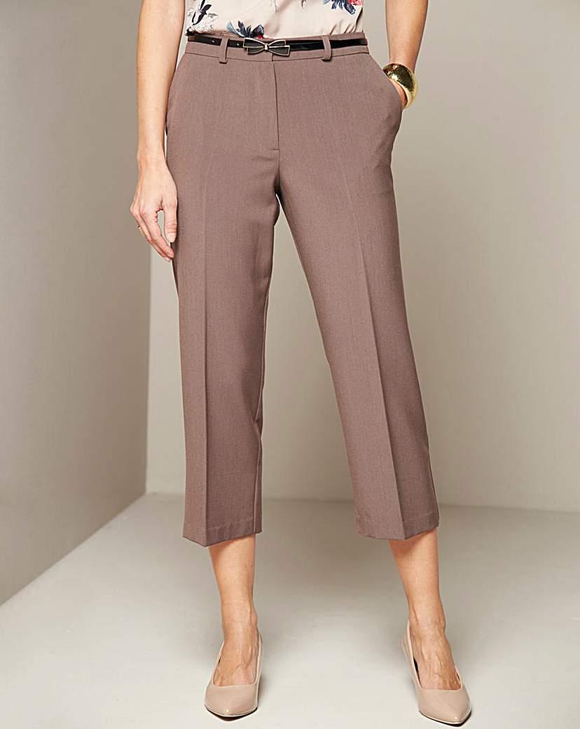 Crop Trouser Length 21in