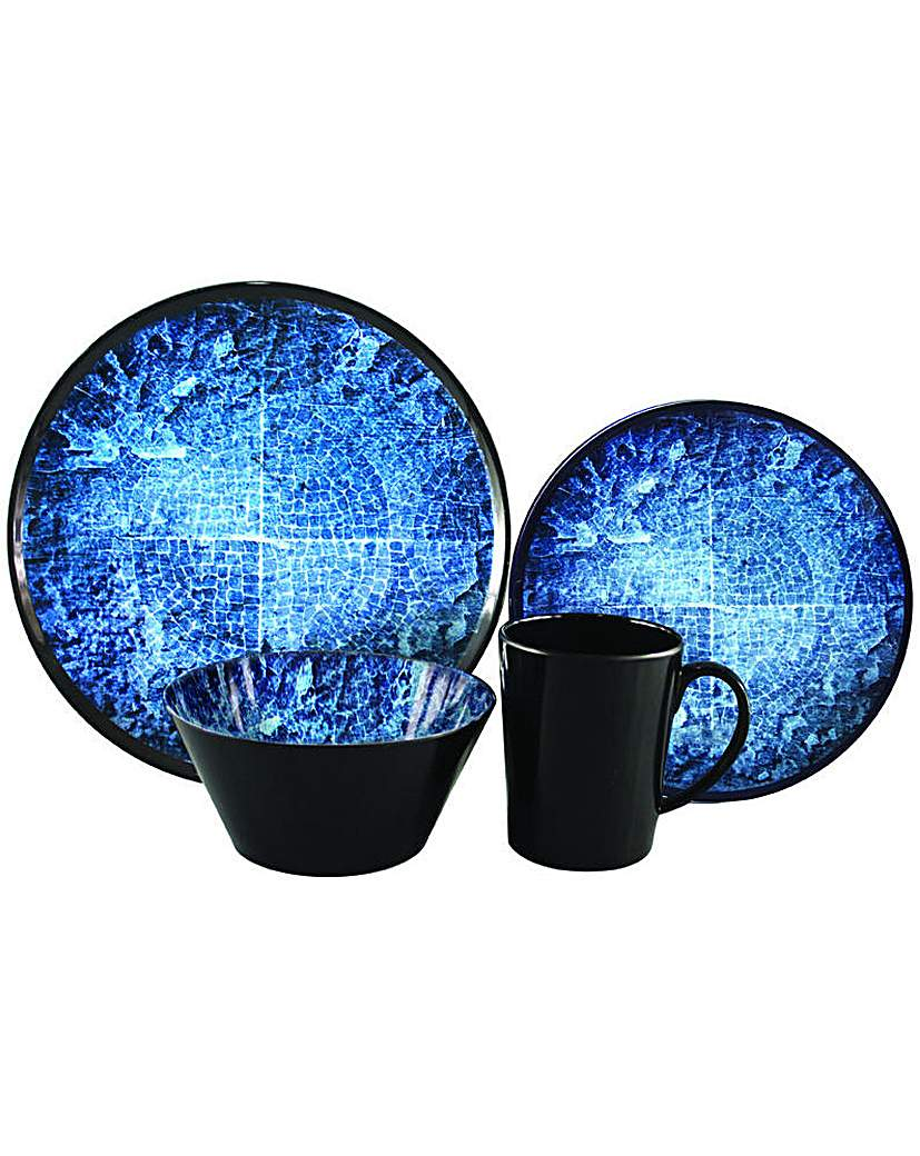 Image of Blue Rock 16Pc Melamine Set