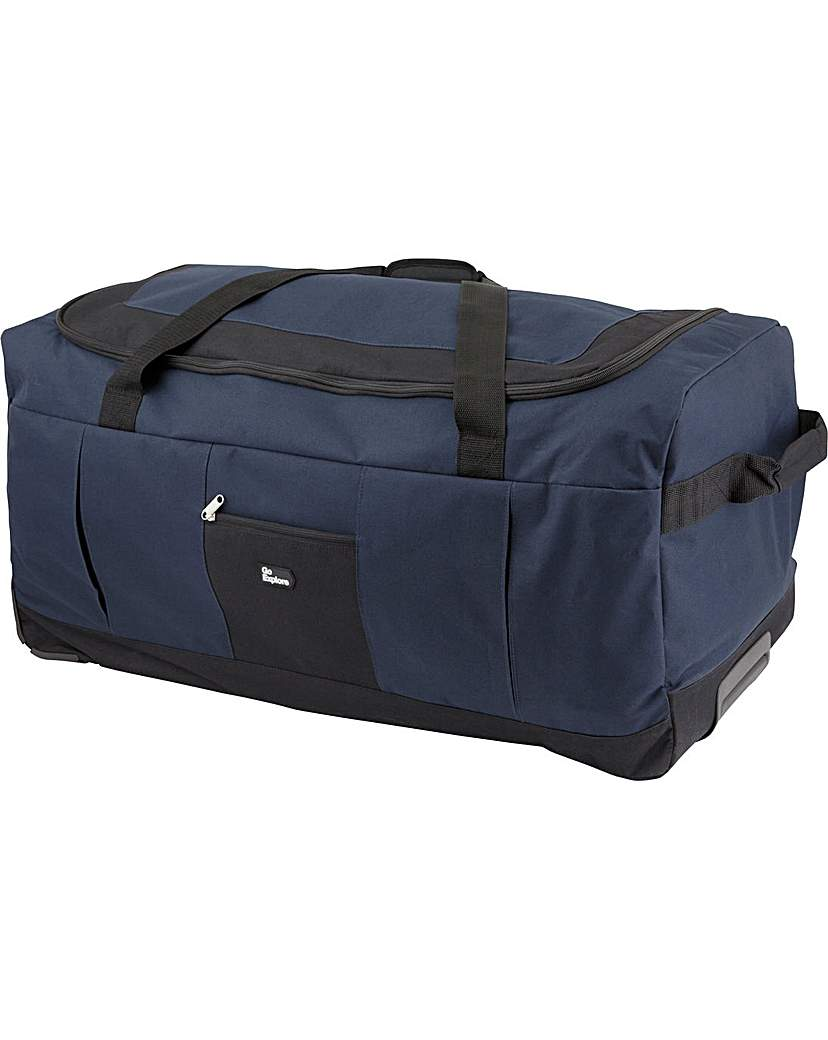 140 L Extra Large Wheel Holdall - Navy