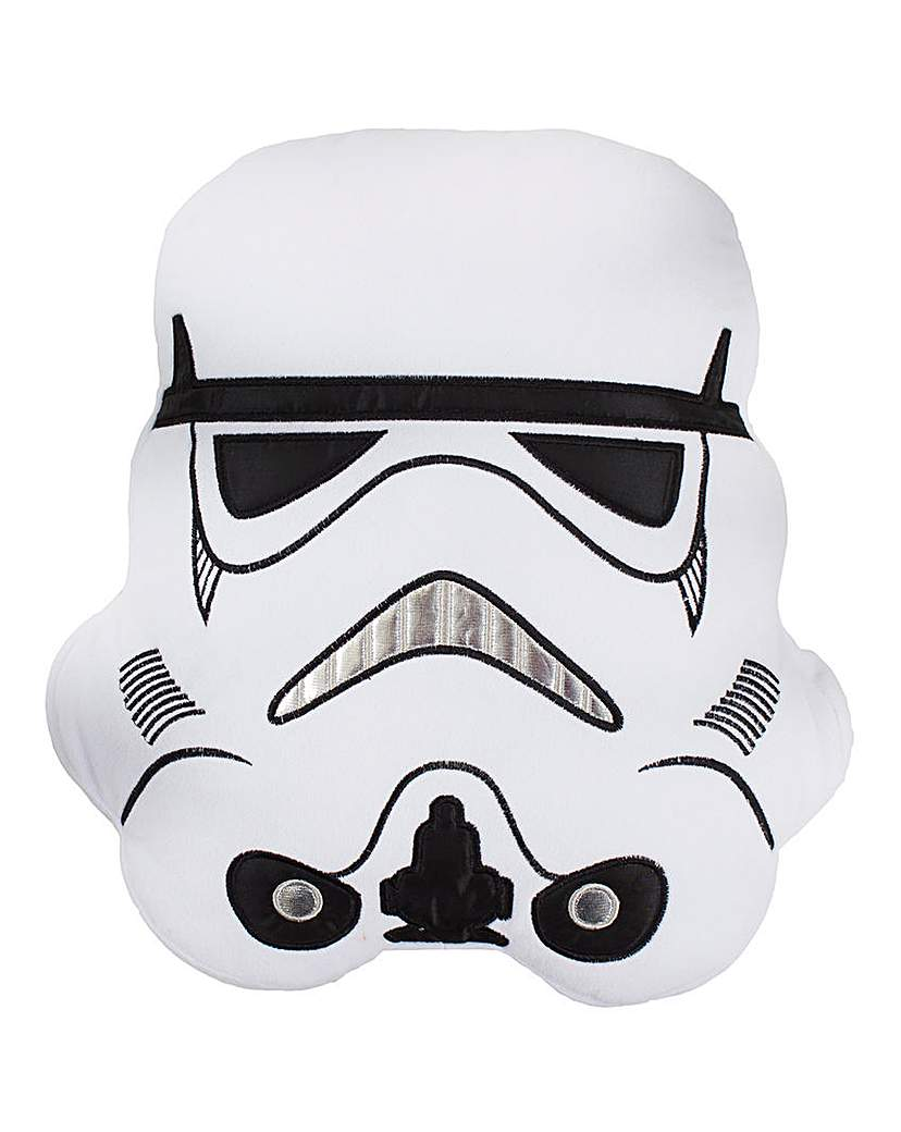 Image of Star Wars Trooper Shaped Cushion