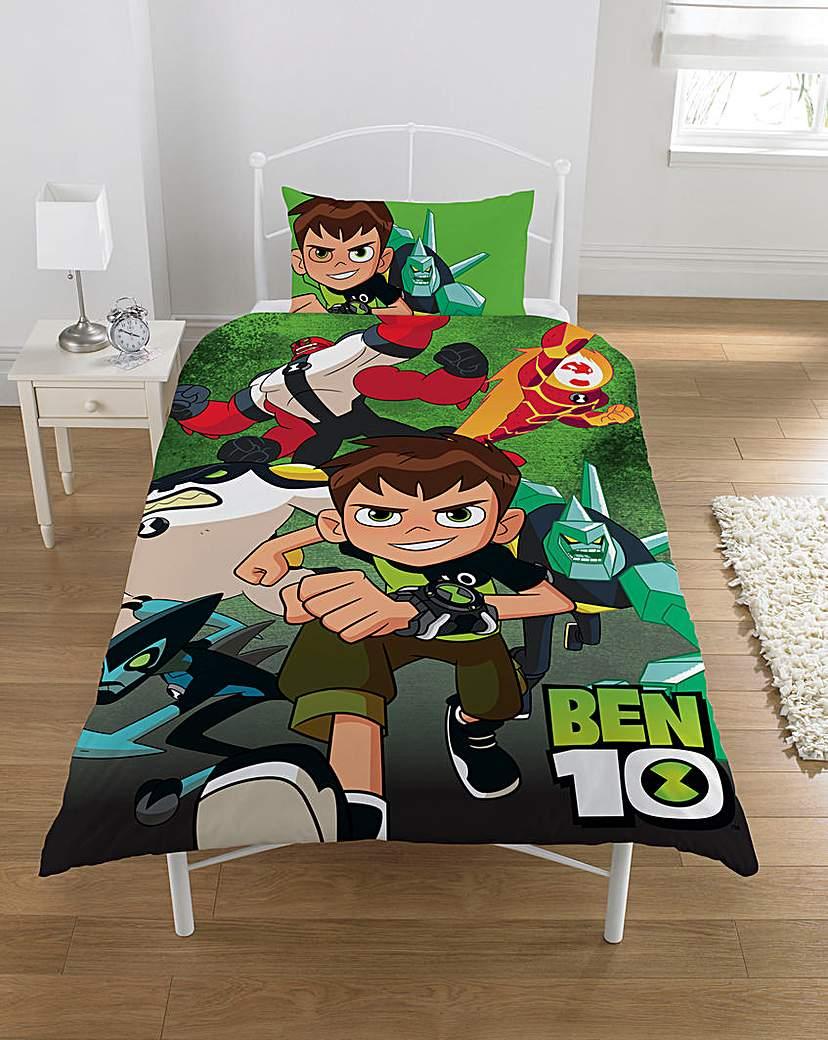 Image of Ben Ten Personalised Panel Duvet Set