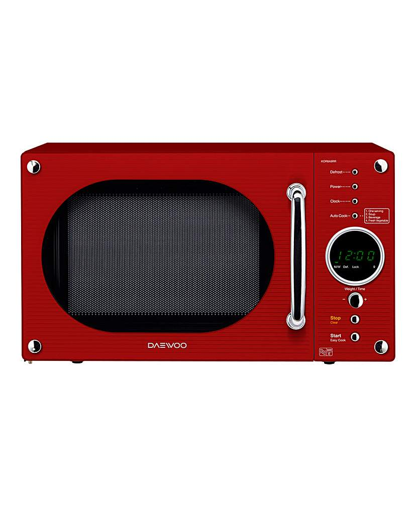 Daewoo 800W 23Litre Touch Microwave
