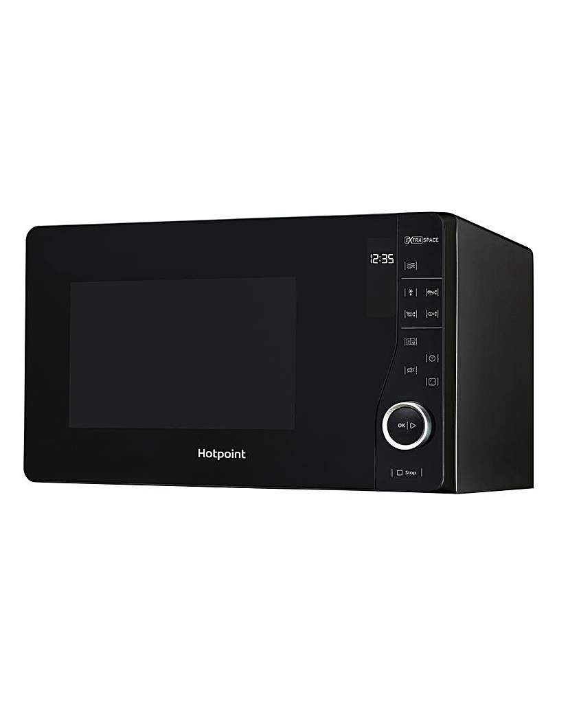 Hotpoint 26L Flatbed solo microwave