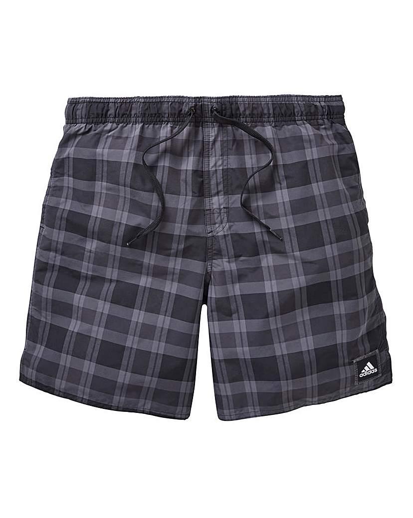 adidas Check Swimshorts
