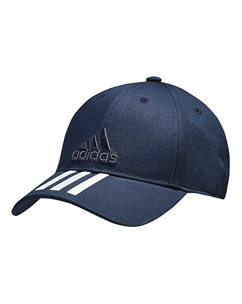 Image of adidas 3-Stripe Cotton Cap