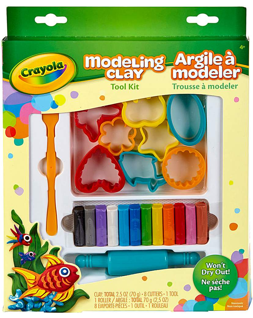 Image of Crayola Clay Modeling Bundle