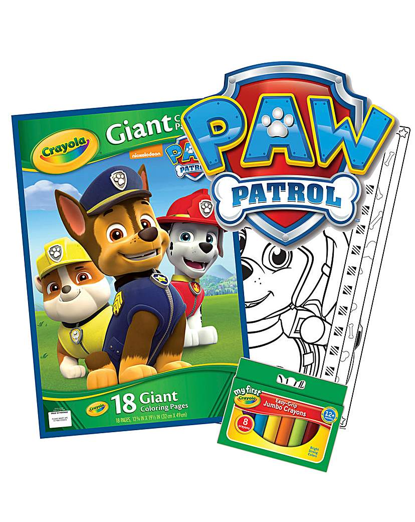 Image of Crayola Paw Patrol Bundle