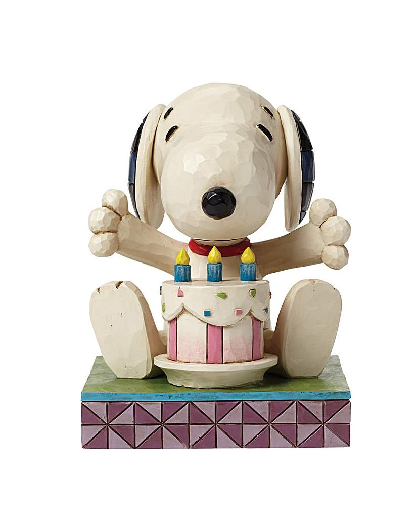 Image of Peanuts Happy Birthday Snoopy