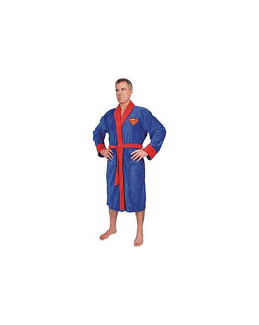 Superman Adult Fleece Robe.