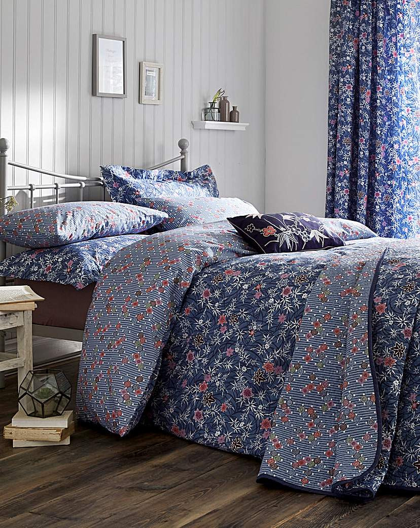 Image of V&A Akimi Duvet Cover Set