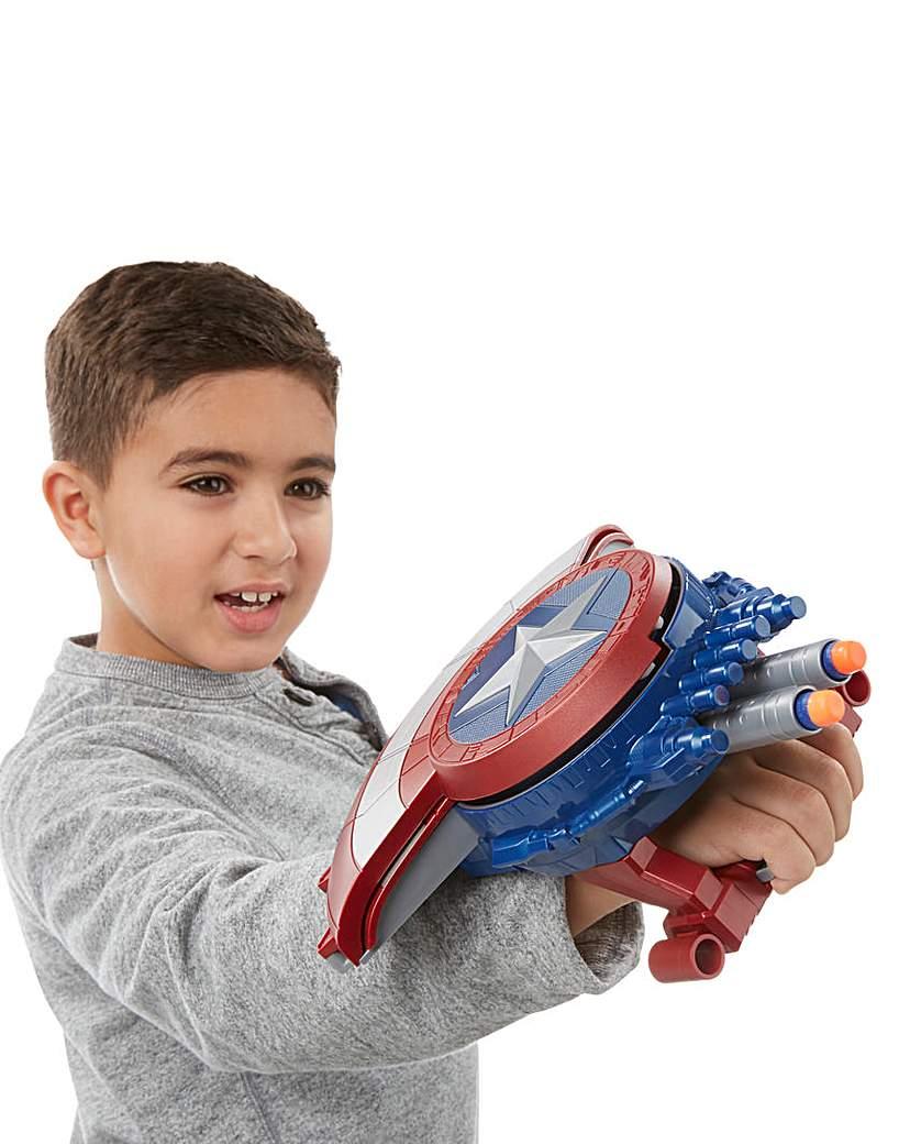 Image of Marvel Captain America Nerf Shield