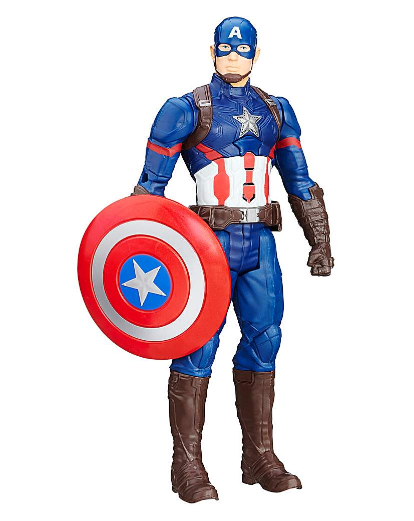 Image of Marvel Captain America Titan Hero Figure