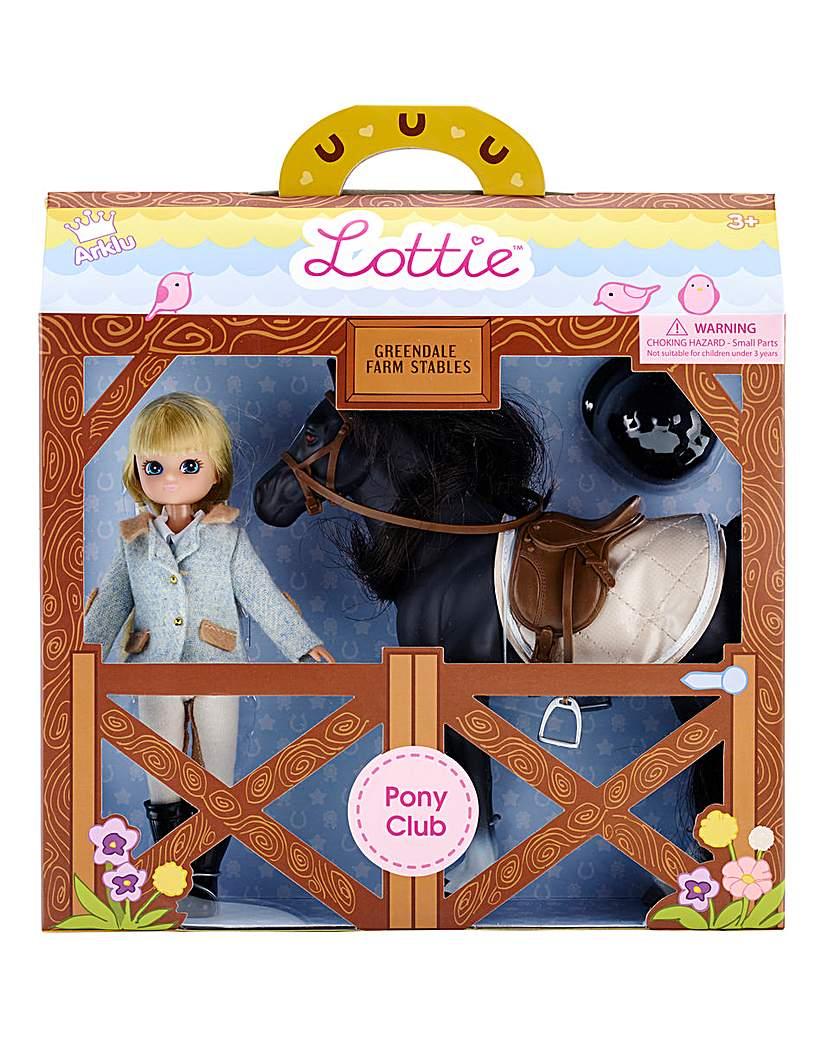 Lottie Dolls Pony Club Doll & Pony